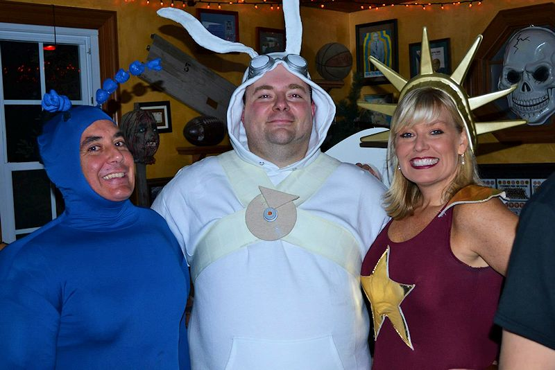 The Tick, Arthur, LAdy Liberty Costumes